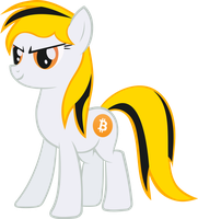 Request: Alovnek's Bitcoin Pony by ArroyoPl