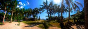 Matabang Beach Resort Panorama by burogski