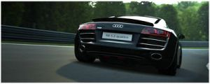 Audi R8 in Green Hell 9 by 1R3bor