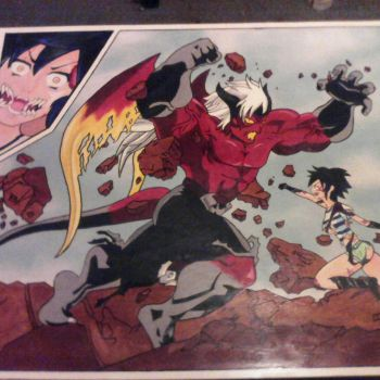 kaisar vs amy version pictorica by luffysan9