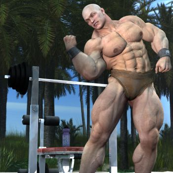 Muscle Beach by russel2512