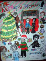 Horror Christmas XD by Criss-Angel-lover