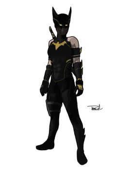 Cassandra Cain Black Bat by tsbranch