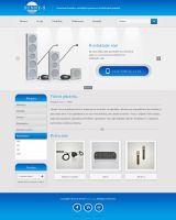 Audio-systems website by AlsusArt