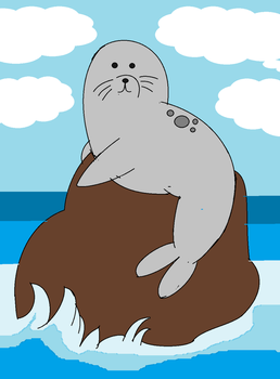 We Bare Bears - Seal by kbinitiald