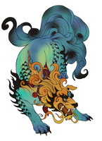 my foo dog by Maxrunn