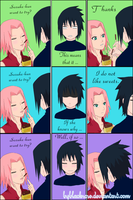SasuSaku options for Sasuke by byBlackRose