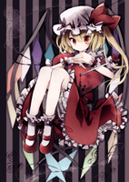 Coloreado - Flandre Scarlet by Airiys