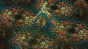 Fractal Mountains2 by mynameishalo