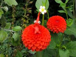 Pikmin - Red Flowers by ClayPita