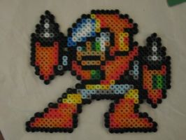 Perler Beads Crashman by kiskekokanut
