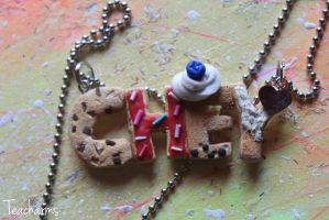 Cookie necklace by Teacharms