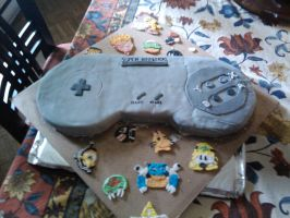 Super Nintendo Cake by serendipitysweets