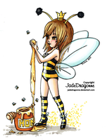 Queen Bee Col - Colored by JadeDragonne