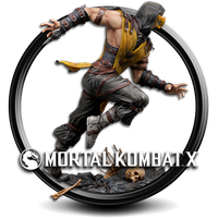 mortal kombat x png icon by S7 by SidySeven