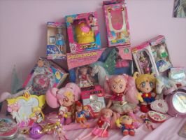 My Sailor Moon Collection by Super-Moogles