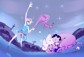 Pearl and Steven by Alumx