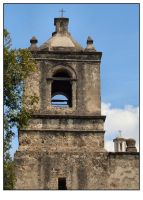 Mission Concepcion Tower by shawn529
