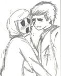 Ghostface and Michael by That-Love-Voodoo