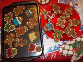 Homemade Gingerbread Men... by Leara