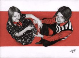 The White Stripes by LittleRamona