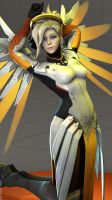 [SFM] Mercy - Overwatch by LorenzoAndre