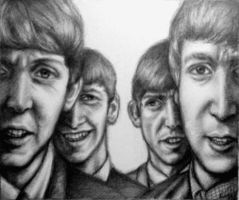 The Beatles - Come Together by Nobody-Parks-Here