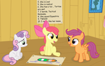 Manehattan Project 1 Panel 2 by mandydax