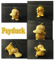 Weekly Sculpture: Psyduck by ClayPita