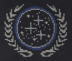Federation cross stitch by Lil-Samuu