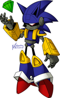"Mecha ""Madness"" Sonic by kevinxnelms"