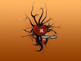 Heart pain by pincel3d
