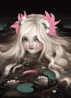 Ophelia, in whiskers by meluseena