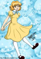 .The Bubble Girl Named Evelyn. by MamuEmu