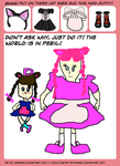 world in peril meme Jordana/Janace by Wowza48