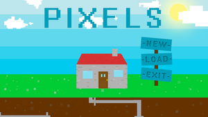 Pixels Game Menu by MarsAssassin