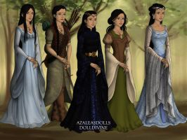 Kalini In The Middle Earth by AnneMarie1986