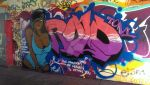 Rolotony Piece (Legal Wall) 21/4/2015 by Indica138
