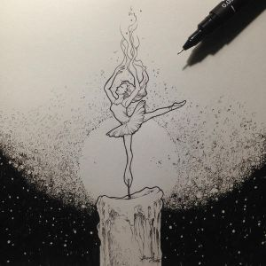 Keep Your Fire Burning Bright by kerbyrosanes