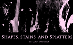 Shapes, Stains, and Splatters by chicniceties