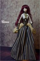 BJDP6 [Steampunk] Corset dress by nalisinko