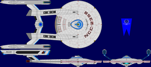 USS Andromeda Multi-View by captshade