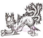 Critters: Cactus Cat by VioletWhirlwind