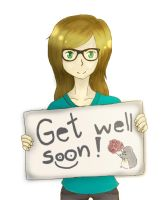 Requests :: Get well soon by noeraxx7