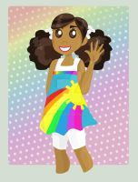 Nicky is Rainbow Chic by Tanis711