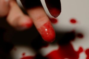 Blood on my Fingertips by Kaiminden