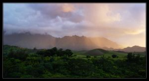 Kauai Sunset by black-heroin