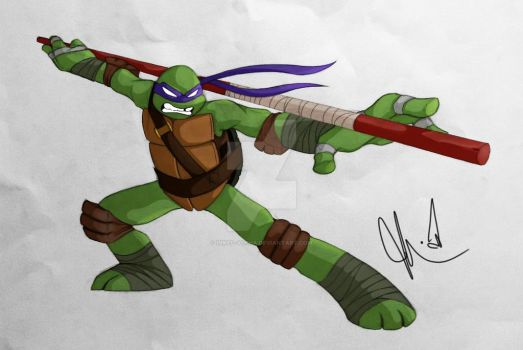 Donatello by Inked-Alpha
