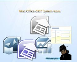Misc Office 2007 Icons by Philosoraptus