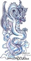 Water dragon by Cidiene